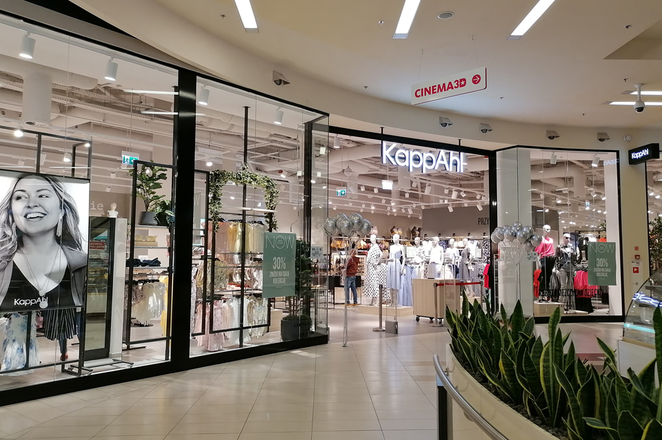 Trend na zmiany Centrum handlowe Galeria Tarnovia